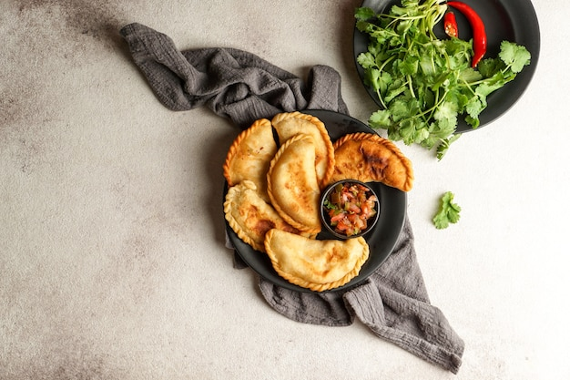 Empanadas tucumanas colombianas