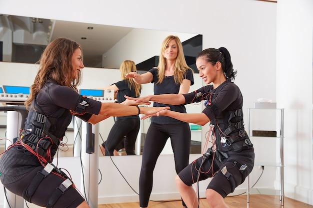 Ems electro stimulatie vrouwen oefeningen