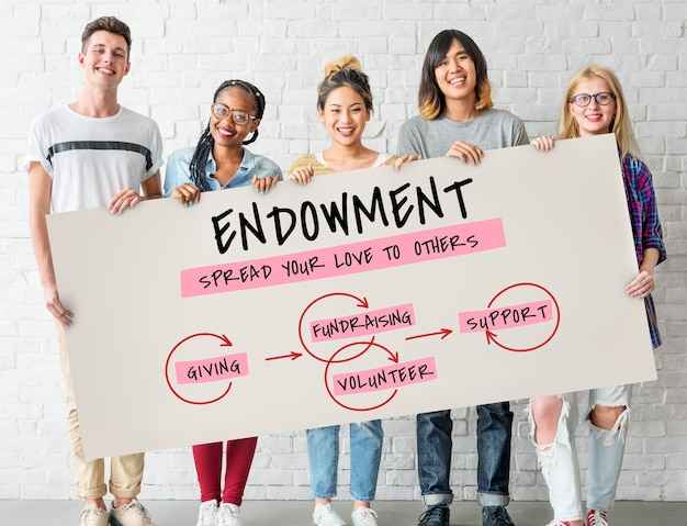 Endowment grantor filantropie vrijgevigheid geven