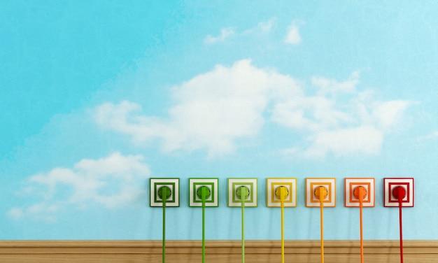 Energie-efficiëntie concept