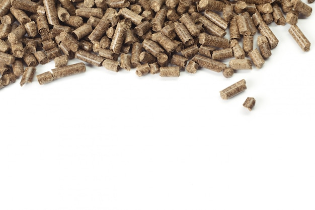 Energie. pellets op de tafel