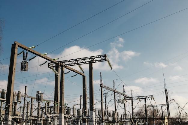 Energiecentrale is een station van transformatie