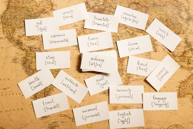 Engelse woorden leren. bereiken
