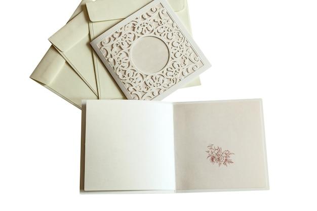 Enveloppen en ansichtkaarten uitnodigingen voor bruiloften, bloem, achtergrond, uitnodiging, envelop
