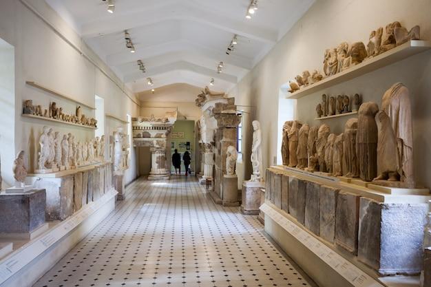 Epidaurus archeologisch museum, griekenland