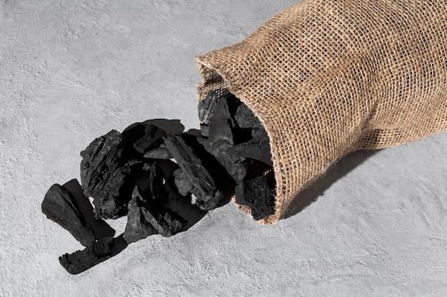 Epiphany dag zak met kolen