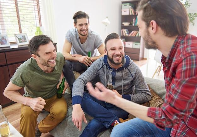 Er is niets beter dan mannelijk gezelschap