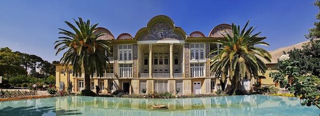 Eram garden in de stad shiraz, iran