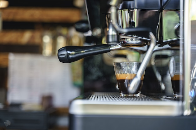 Espressokoffie zetten