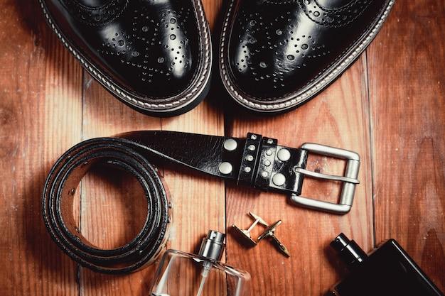 Essentials moderne man. outfit van zakenman