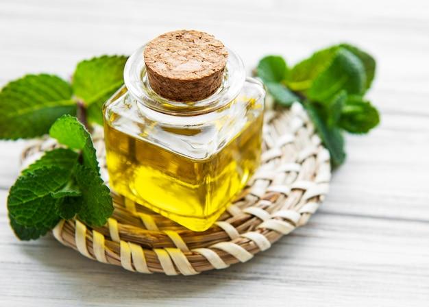 Essentiële aroma-olie met munt
