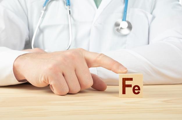 Essentiële vitamines en mineralen voor mensenconcept