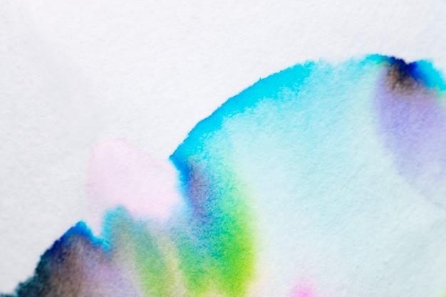 Esthetische abstracte chromatografieachtergrond in blauwe toon