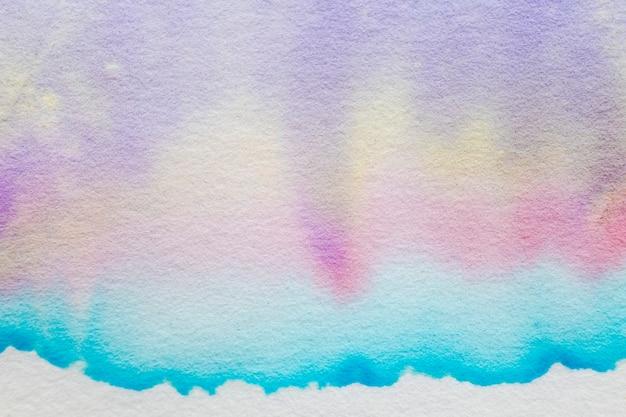 Esthetische abstracte chromatografieachtergrond in pasteltint