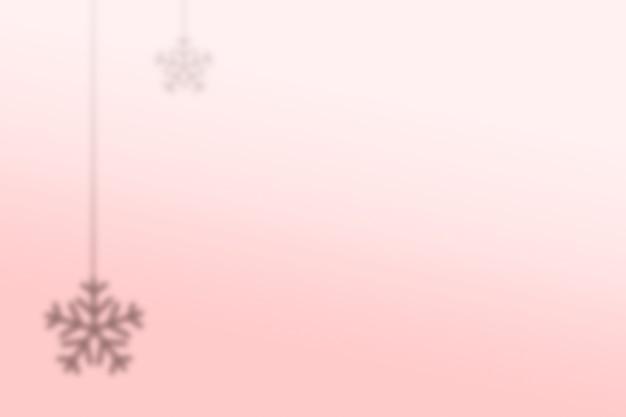 Esthetische achtergrond met sneeuwstroomschaduw
