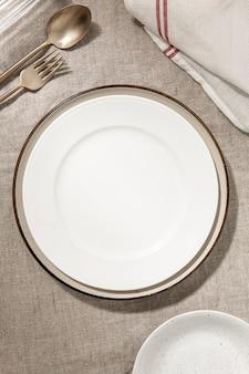 Esthetische eettafel achtergrond