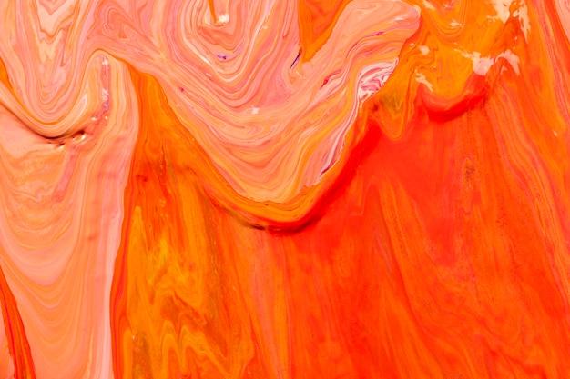 Esthetische oranje achtergrond handgemaakte experimentele kunst
