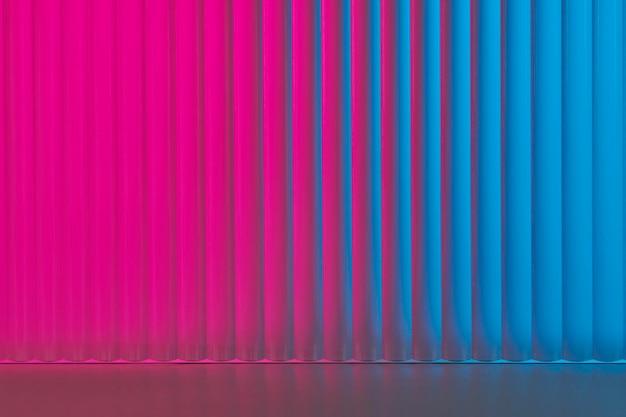 Esthetische productachtergrond met glas met patroon