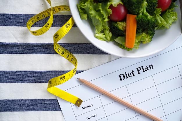Eten voor een goede gezondheid en perfecte vorm.