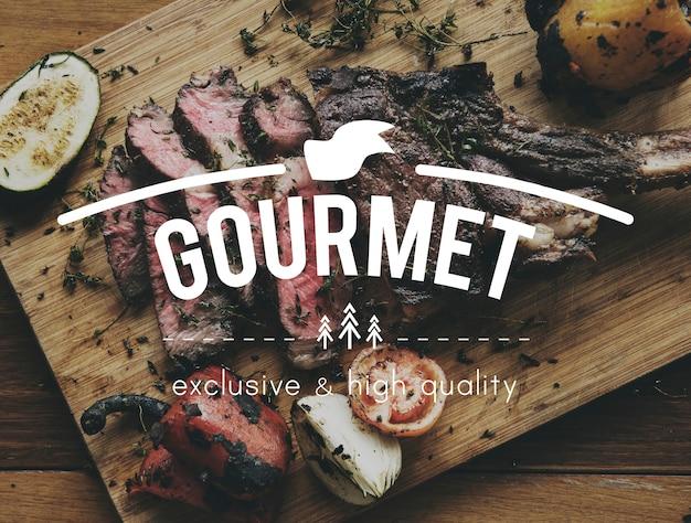 Eten woorden steak eetlust maaltijd Gratis Foto