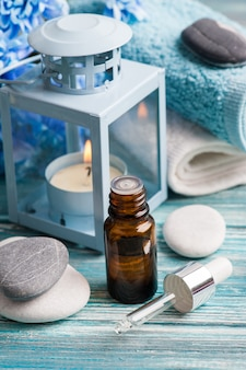 Etherische olie spa-behandeling