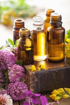 Etherische oliën en kruiden medische bloemen