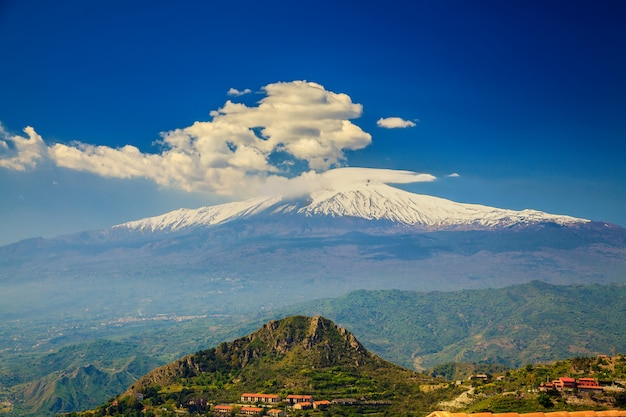 Etna, sicilië