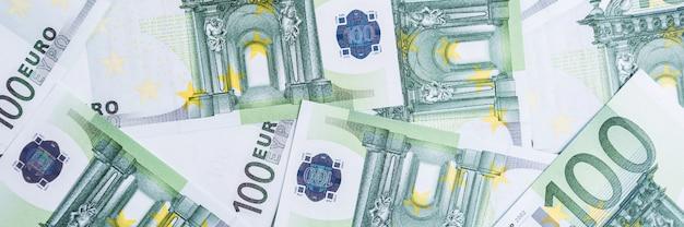 Euro contante achtergrond