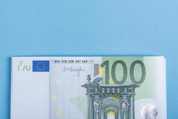 Euro geld bankbiljetten. euro geld. euro rekening