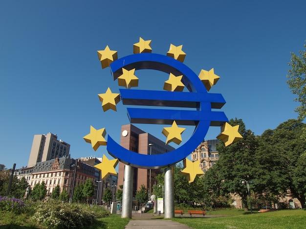 Europese centrale bank in frankfurt