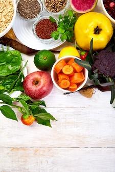 Evenwichtig en gezond voedsel