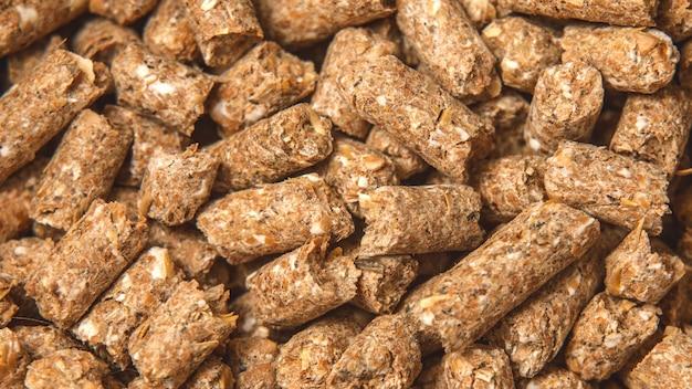Evenwichtige voeding voor dieren, texturen