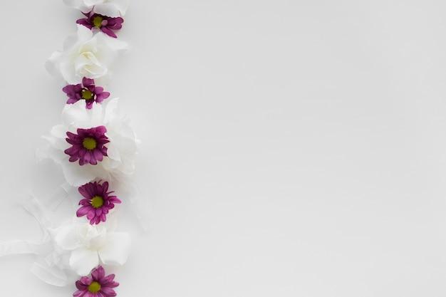 Exemplaar-ruimte bloemenornament