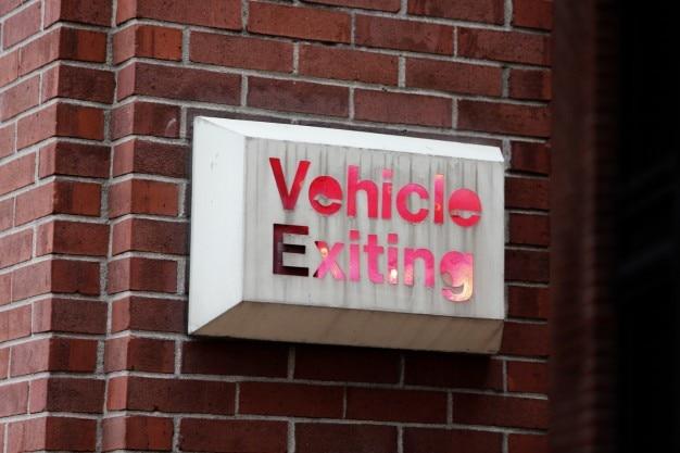 Exit signalering