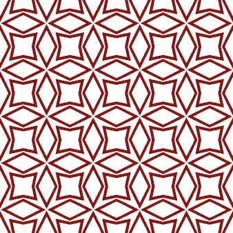 Exotisch naadloos patroon. kastanjebruine symmetrische caleidoscoopachtergrond. textiel klaar sympathieke print, badmode stof, behang, inwikkeling. zomer badmode exotisch naadloos ontwerp.