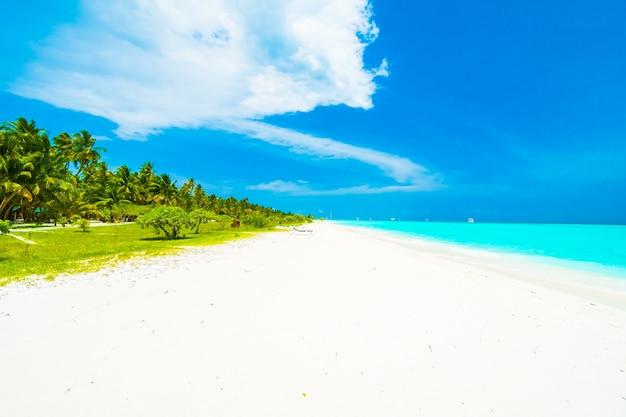 Exotische blauw outdoor vakantie-eiland
