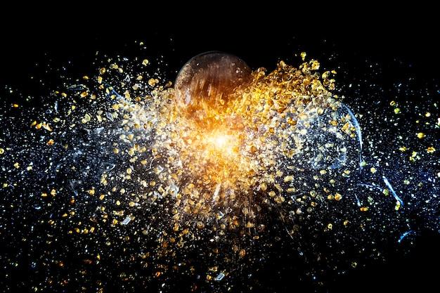 Explosie van de bal