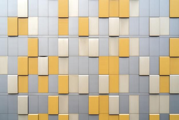 Externe coating van een industrieel gebouw. abstracte architecturale achtergrond.
