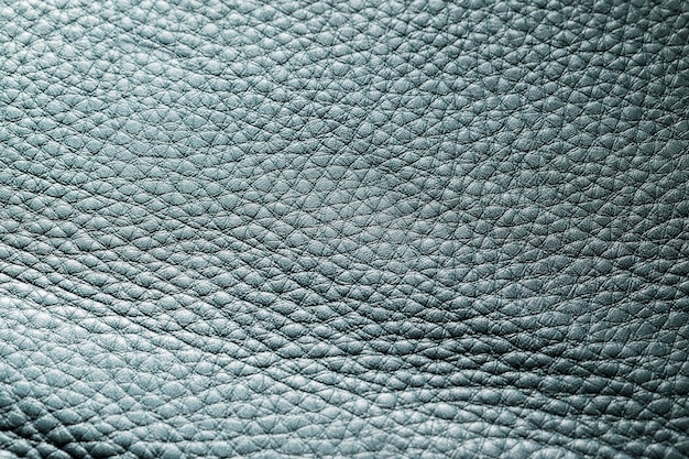 Extreem close-up donkerblauw leer