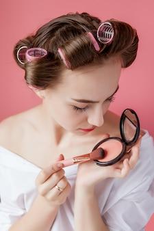 Eyeliner oog make-up schoonheidsverzorging vrouw