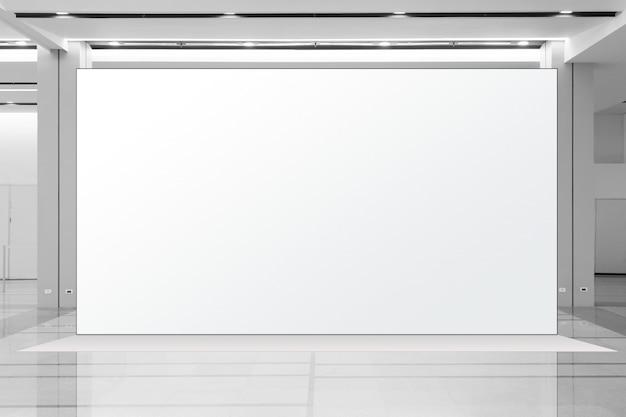 Fabric pop up basiseenheid display van reclamebannermedia, lege achtergrond