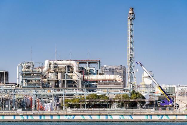 Fabriek chemische fabriek