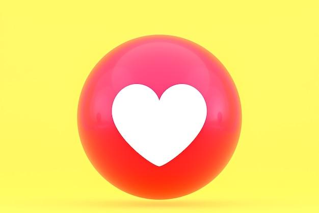 Facebook-reactiesemoji, social media ballonsymbool met facebookpictogrammenpatroon