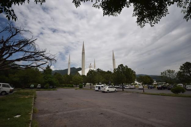 Faisal mosque islamabad parkeren