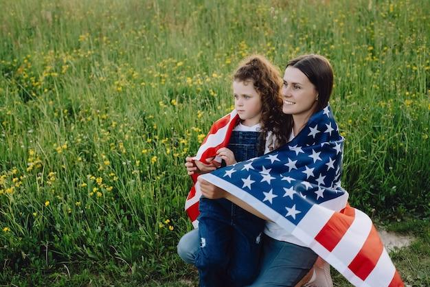 Familie gevoel vrijheid onafhankelijkheid concept
