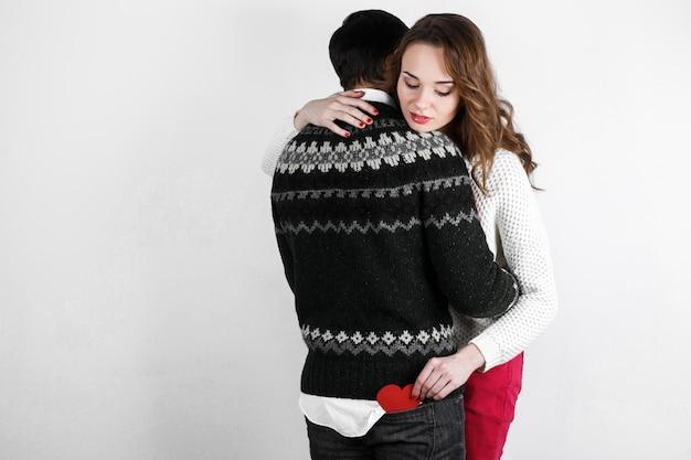 Familie lichaam passie kus