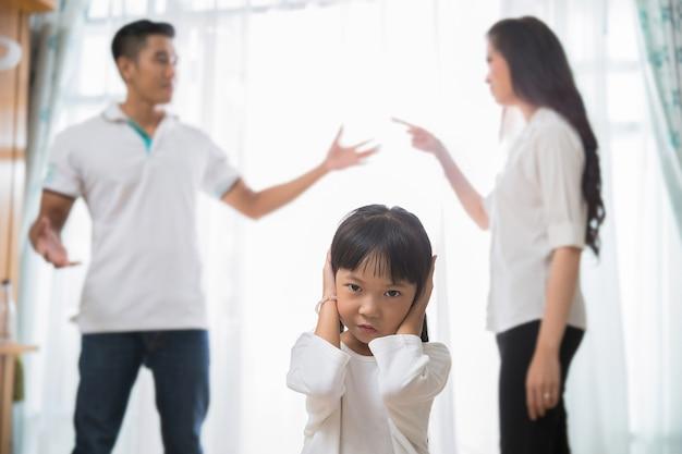 Familie ruzie en dochter betreurt