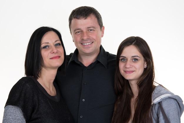Familieportret staan