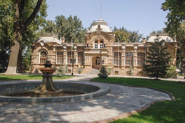 Familieresidentie van de familie romanov in tasjkent, oezbekistan