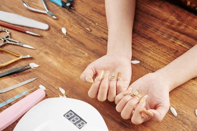 Fancy creatieve manicure